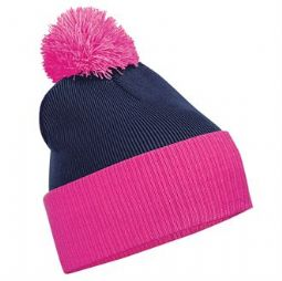 Emmanuel College Contrast Beanie